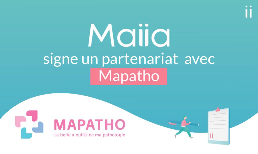 Maiia et Mapatho s'associent pour que les malades chroniques ne renoncent plus à se soigner en période de confinement
