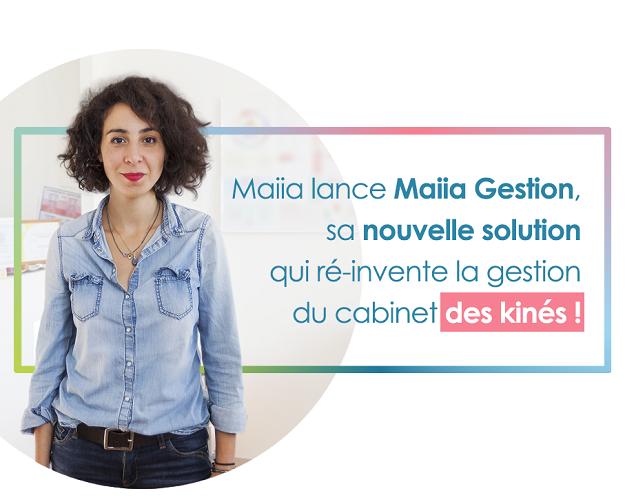Maiia annonce le lancement de Maiia Gestion, sa nouvelle solution qui réinvente la gestion du cabinet des kinésithérapeutes